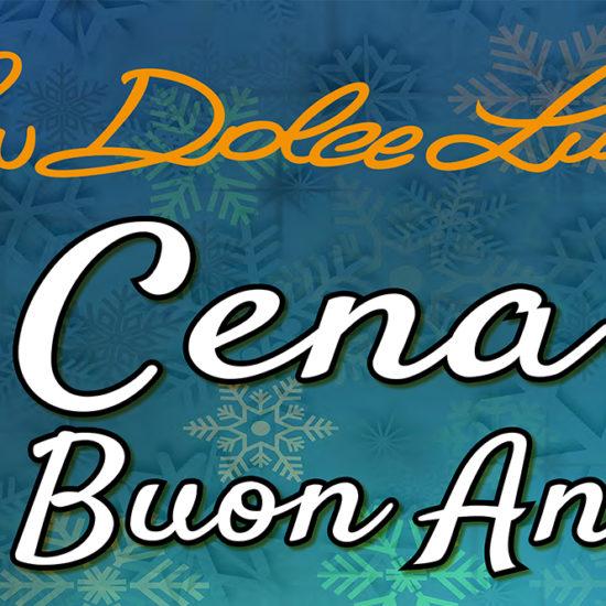 Cena di buon anno La Dolce Lucia copertina