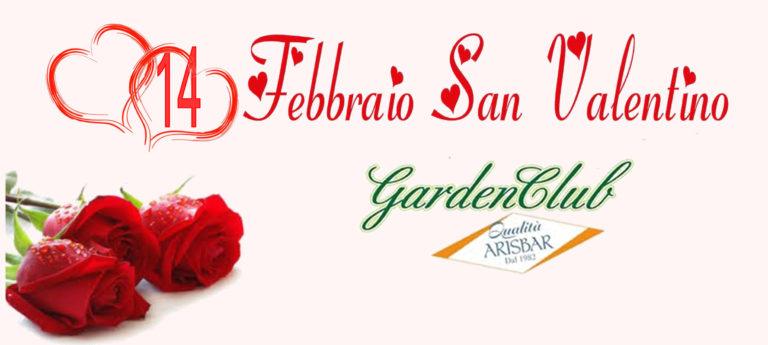 san valentino evento2019 Garden Club