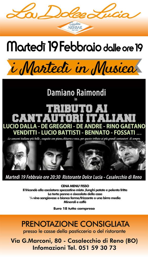 Arisbar tributo ai cantautori italiani